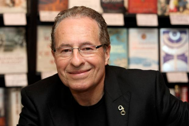 Signing books: Peter James