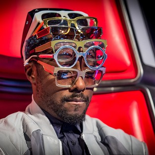 Will. i. am lost 19-year-old Iesher Haughton in The Voice (PA/BBC)