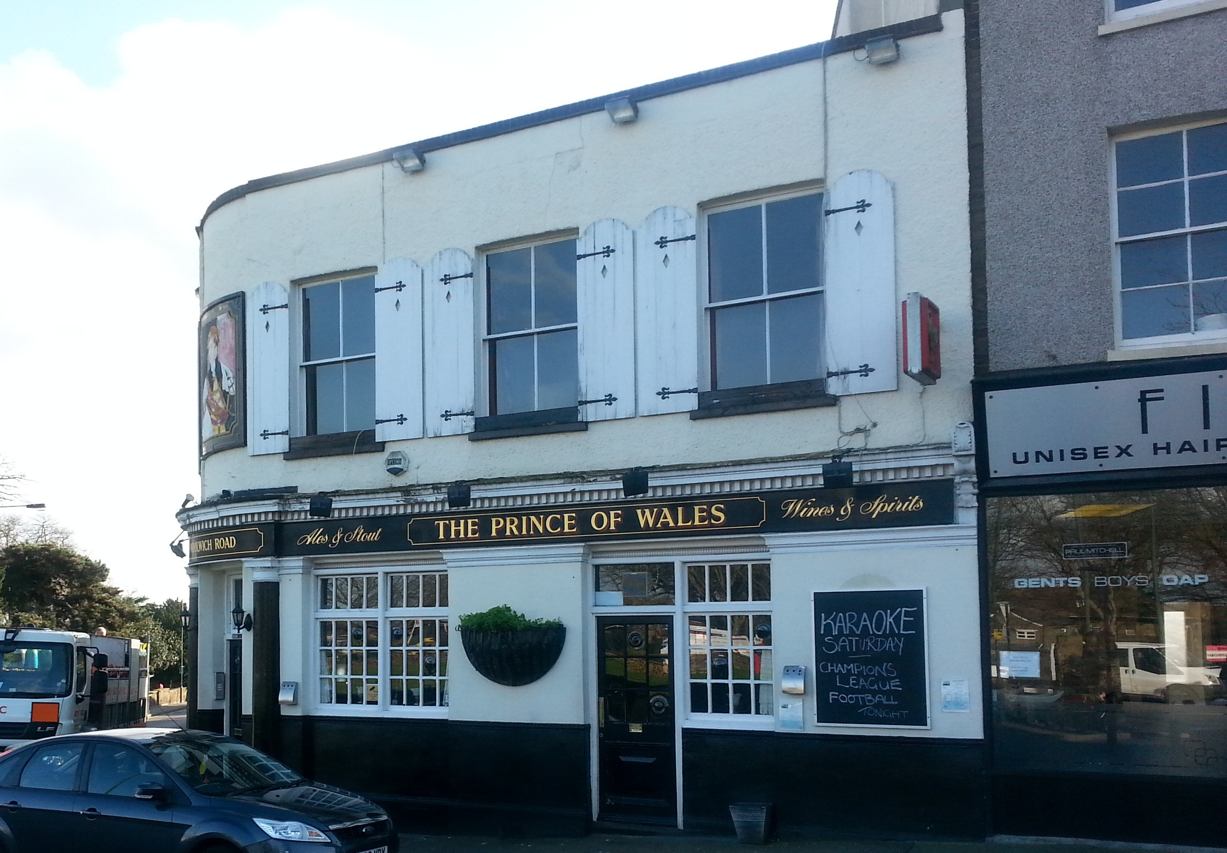 PubSpy reviews The Prince of Wales, Belvedere
