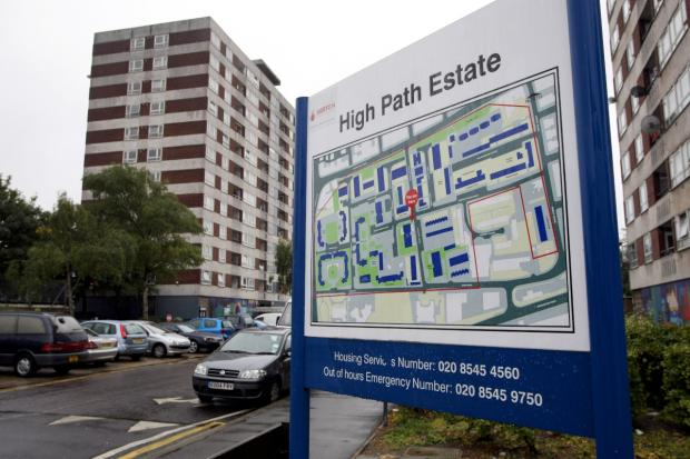 High Path estate in Wimbledon