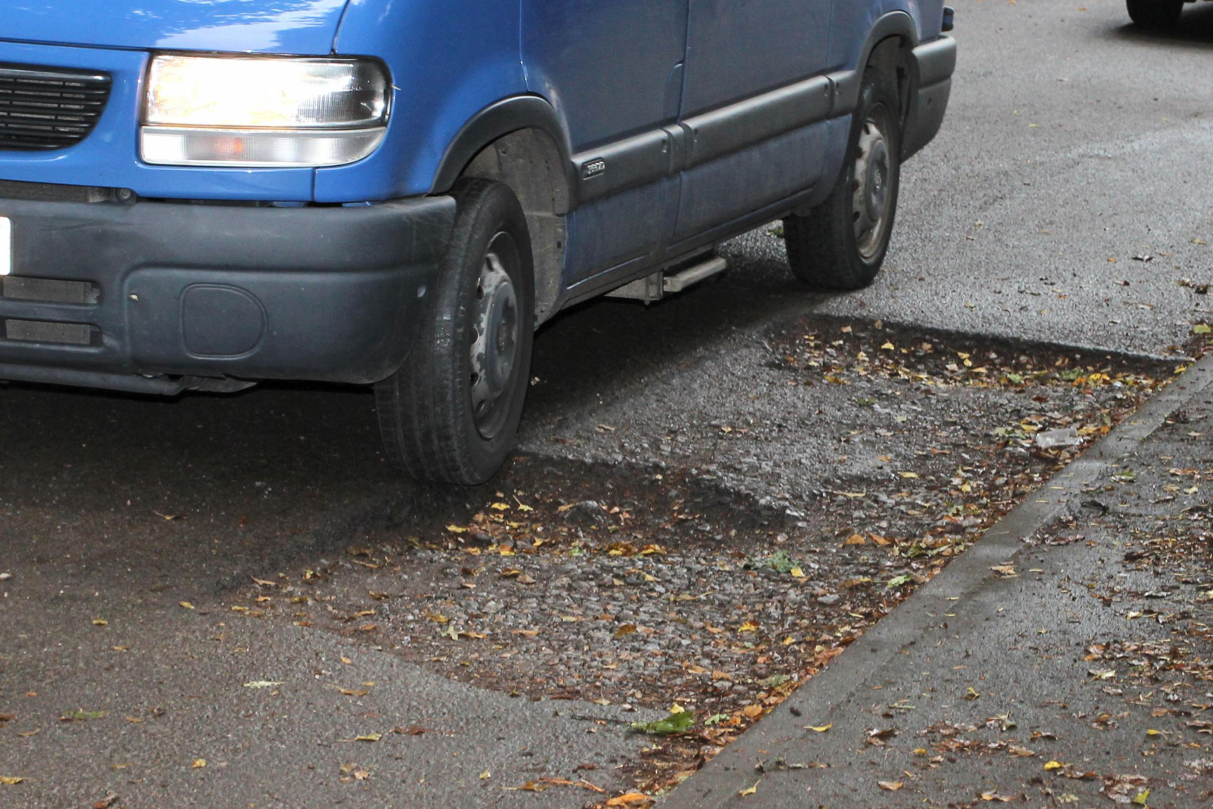 It is estimated that repairing damage to roads and bridges will cost at least £15m.