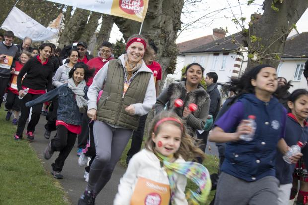 This Is Local London: Temple up and running for Sport Relief