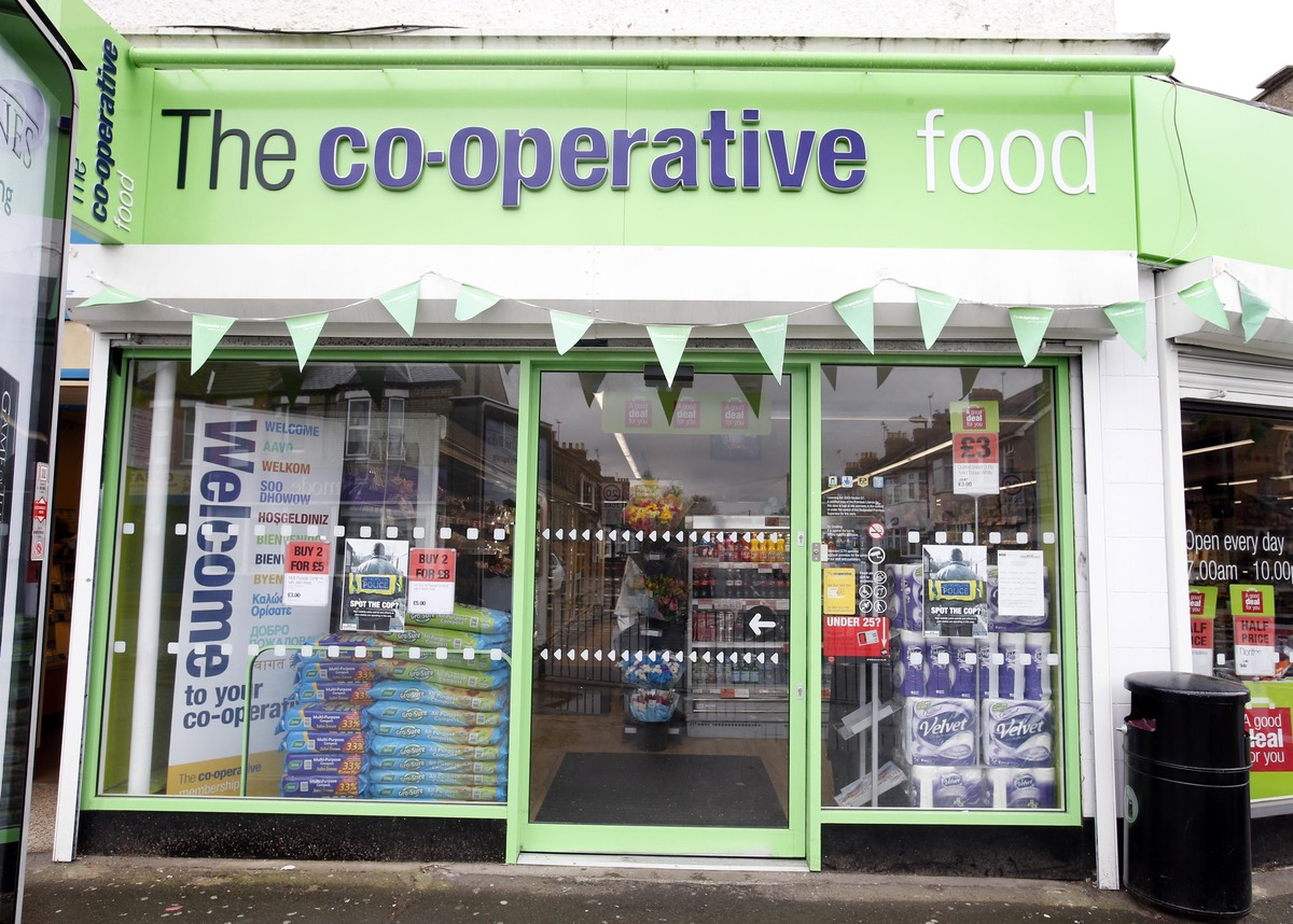 The Co-op store in Lancaster Road