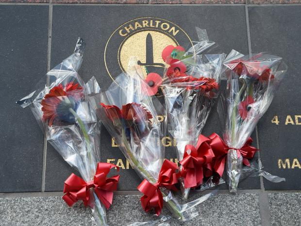 This Is Local London: Lee Rigby family's emotional visit to Charlton Athletic memorial