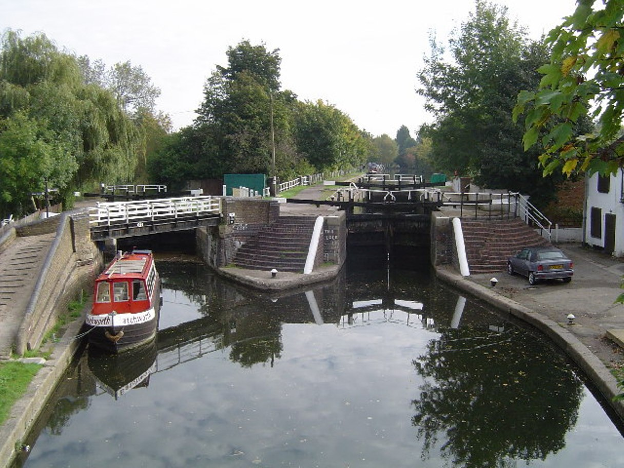 Leisurely ride: Rickmansworth Lock is on the route (first item)