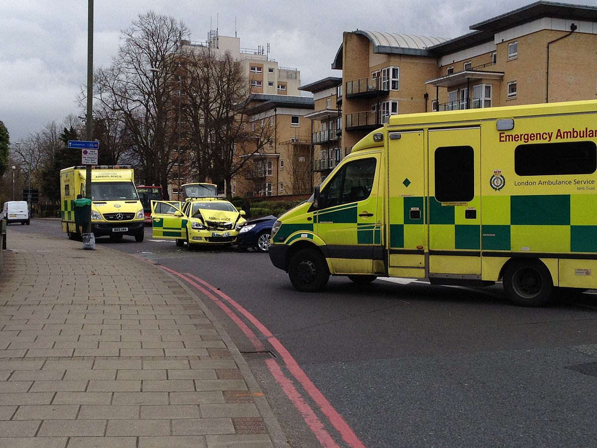 A report has called for CCTV cameras to be used to protect ambulance workers in London from attack.
