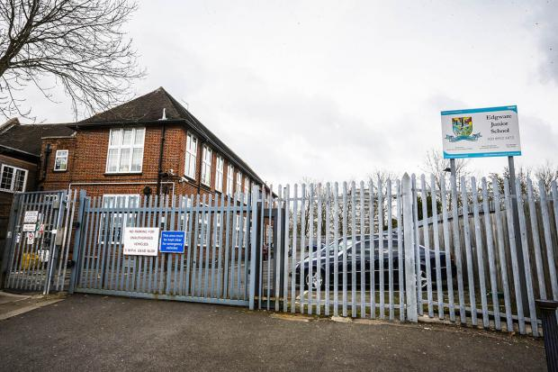 Edgware Junior School critisized a second time