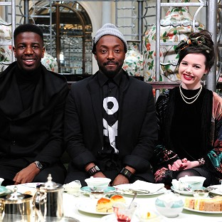 Will.i.am has taken his team and their mums out for a