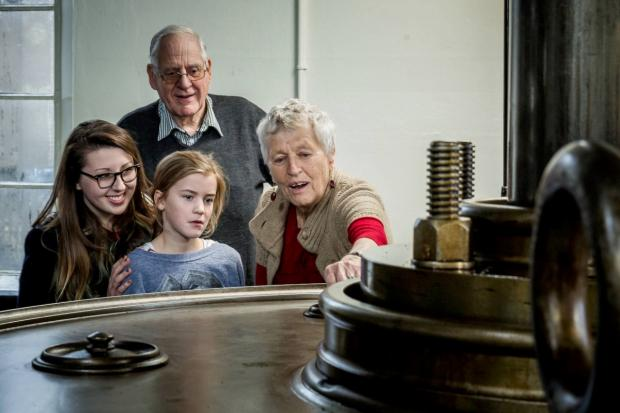 Steamingly good: The museum was reopened after thousands of hours' work
