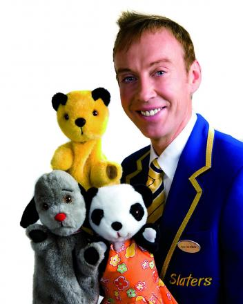 Sooty, Sweep and Soo with Richard Cadell