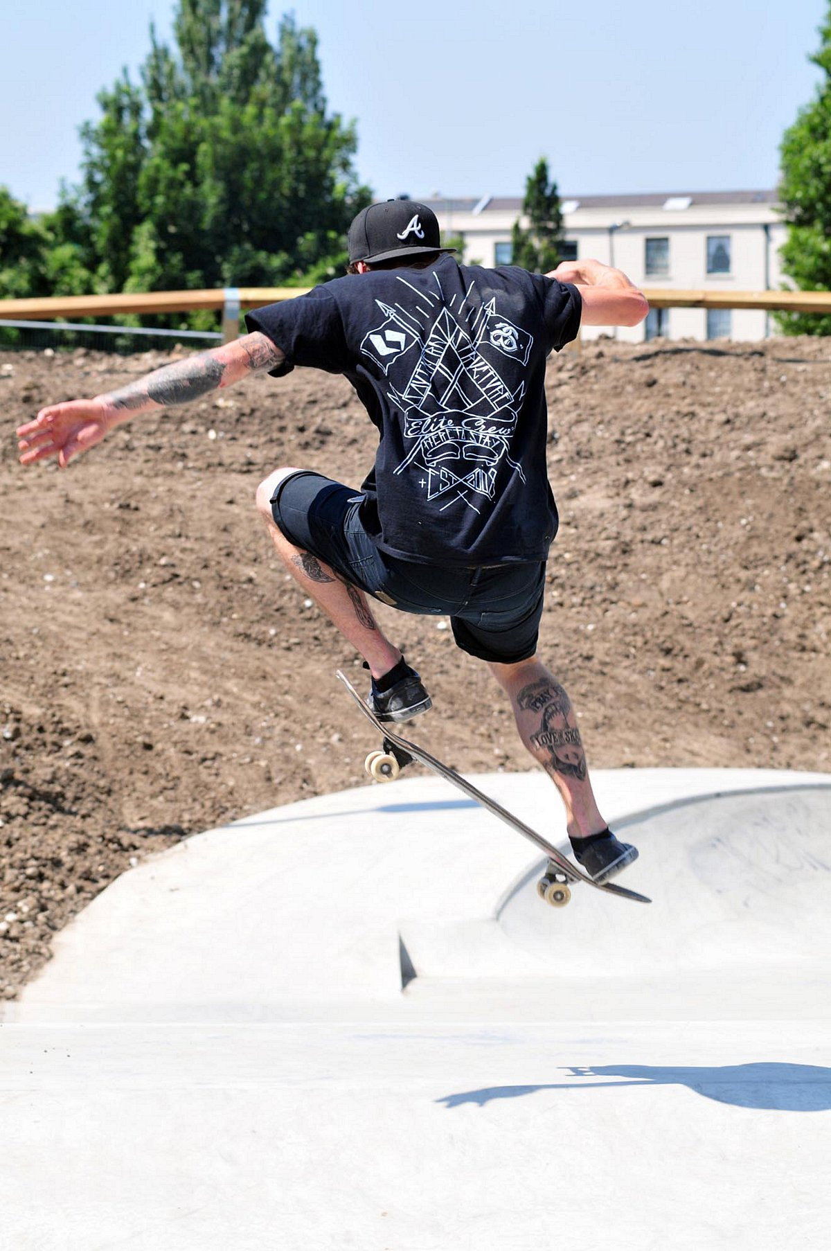 Cox Lane and Long Grove skate parks will be launching with professional demonstrations