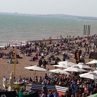 This Is Local London: Brighton and other parts of southern Britain are set to enjoy sunny weather next week