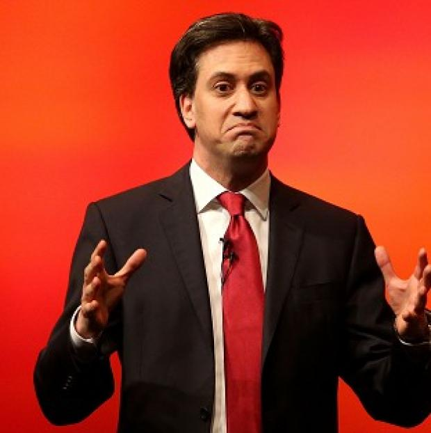 This Is Local London: Labour leader Ed Miliband accepts that there are issue with the NHS in Wales
