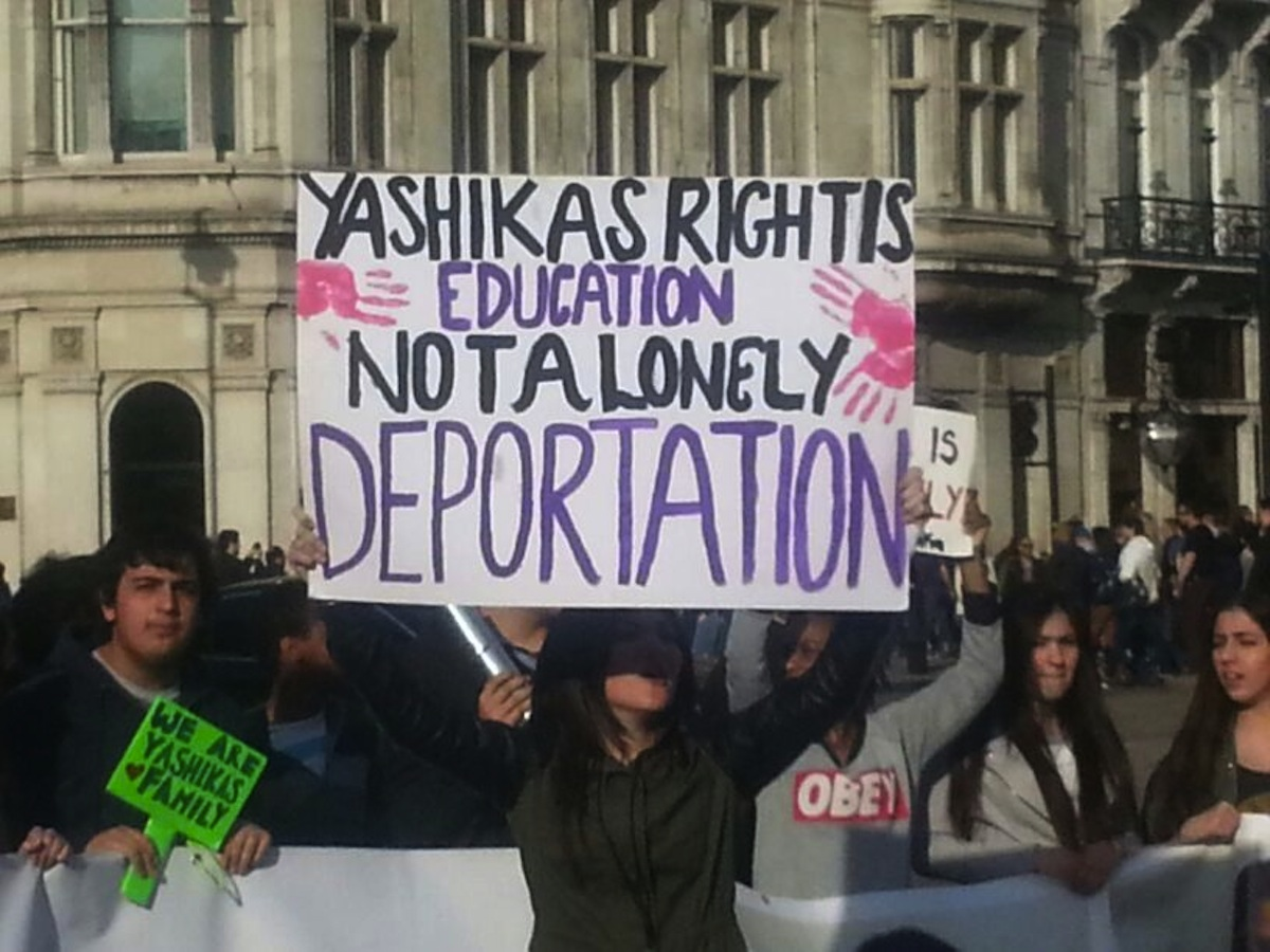 'Yashika's right is education, not a lonely deportation' - students in last ditch attempt to save friend