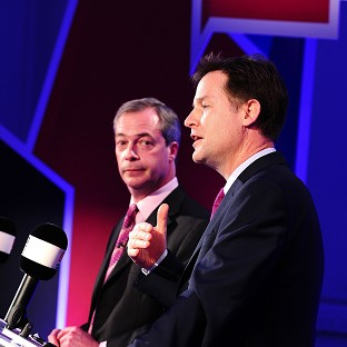 Nick Clegg and Ukip leader Nigel Farage will hold another debate on Wednesday