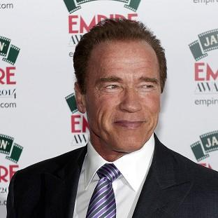 This Is Local London: Arnold Schwarzenegger attending the Empire Magazine Film Awards held at the Grosvenor Hotel in London.
