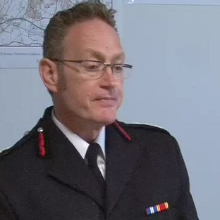 Derbyshire Chief Fire Officer Sean Frayne has been suspended since he was charged with rape over an alleged incident dating ba