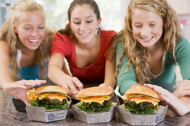 Algae burgers will be served at the University of Greenwich to boost students' immune systems