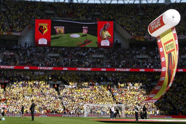 This Is Local London: Watford reached the Championship play-off final last season. Picture: Holly Cant