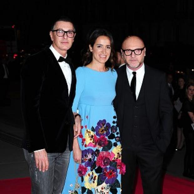 This Is Local London: Domenico Dolce and Stefano Gabbana attending The Glamour of Italian Fashion 1945-2014 private dinner at the Victoria and Albert Museum, London.