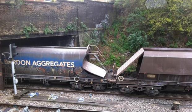 Reader spots 'derailed train' in Charlton