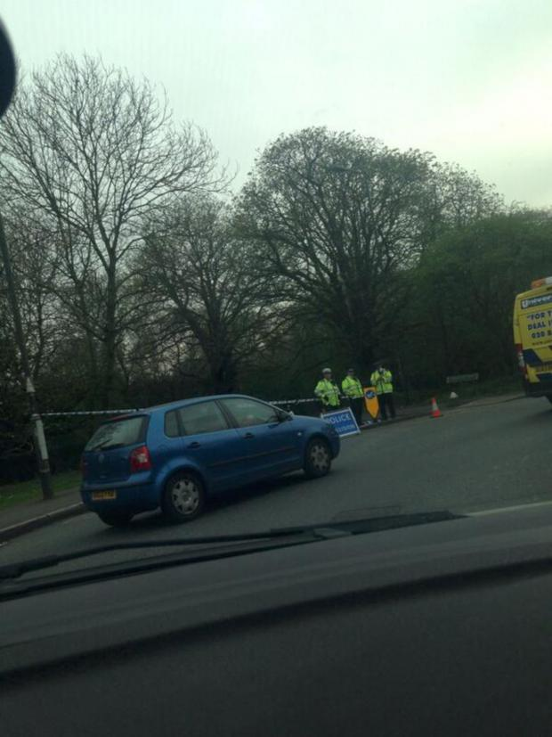 This Is Local London: Police attended the road traffic collision in Carshalton Road