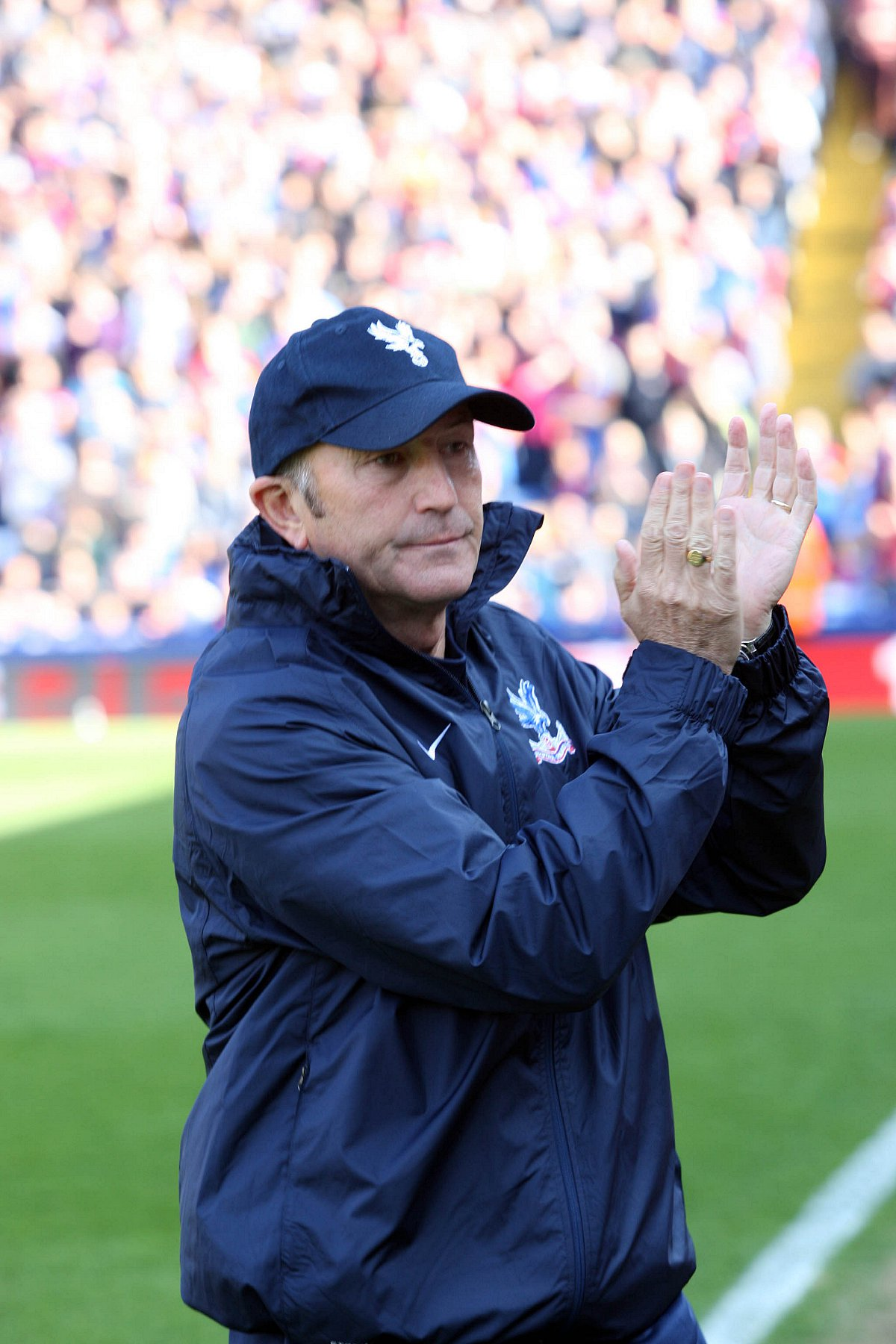 Welsh roots: Tony Pulis watched Cardiff