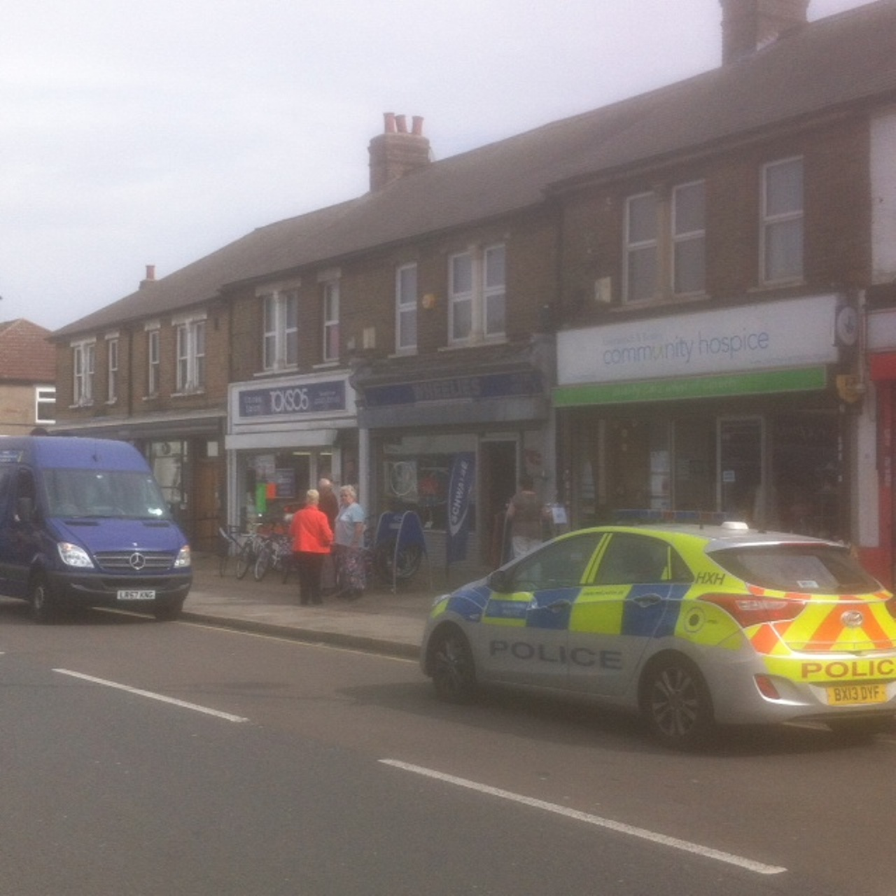 VIDEO: Bank robbed in Northumberland Heath and man arrested