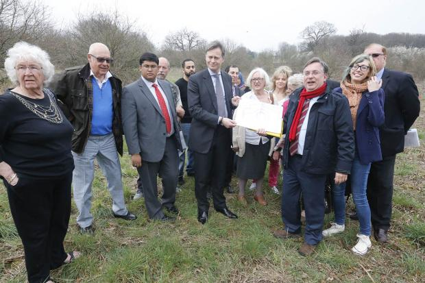 Public meeting to help save Mill Hill's greenbelt
