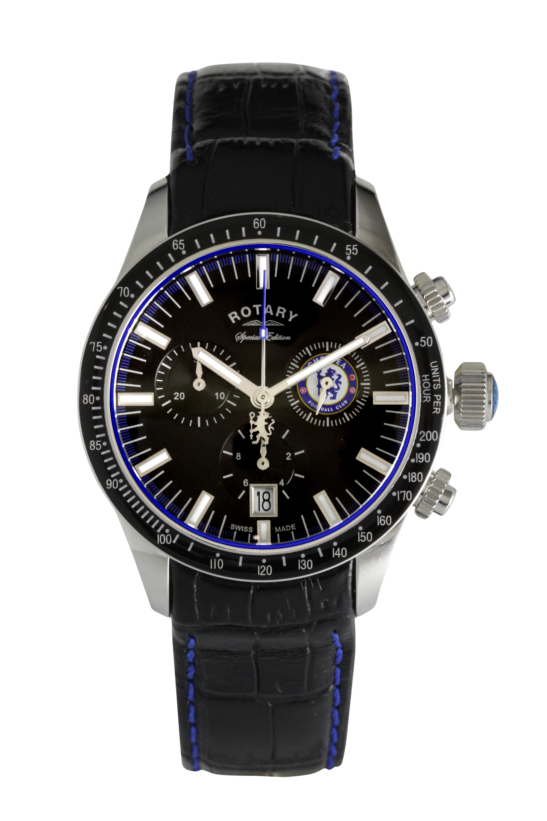 WIN! One of two Rotary Chronograph Chelsea FC watches worth £395