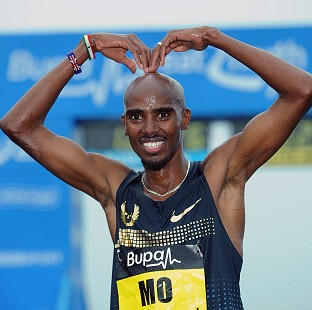 Reflecting on his chances of winning the London Marathon, Mo Farah said: