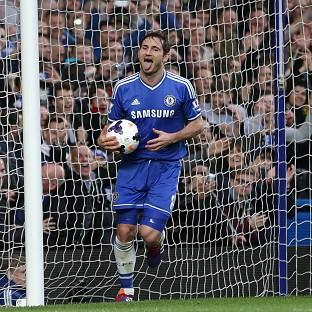 Frank Lampard netted the second goal for Chelsea