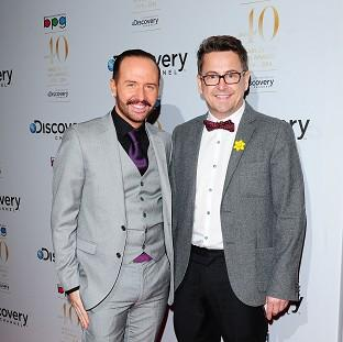 This Is Local London: Chris Steed and Stephen Webb of Gogglebox, which has been nominated for two Baftas
