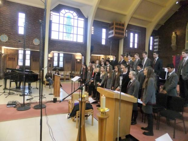 Singing loud: The St George's College choir