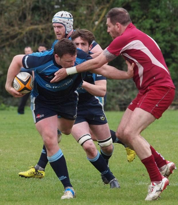 This Is Local London: Manor try-scorer Will Mobray