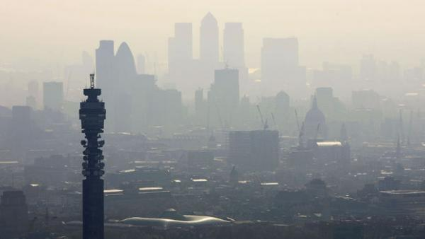 Pollution: London has had old fashioned pea-soupers in recent weeks