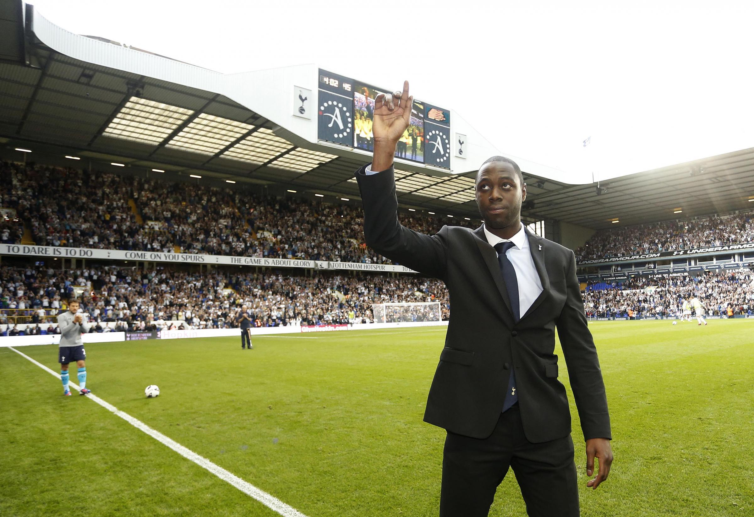 King will step out on to the pitch in a Spurs shirt at White Hart Lane for the last time on May 12