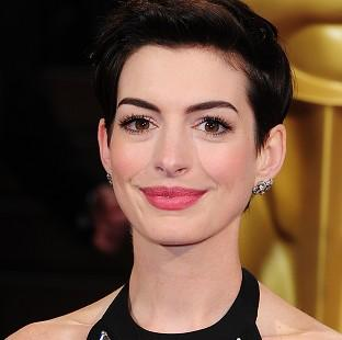 Anne Hathaway performed show tune-style renditions of rap hits on an American show