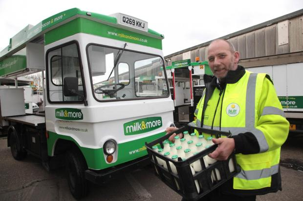 This Is Local London: Unsung hero: End of a dairy tale as milkman bows out