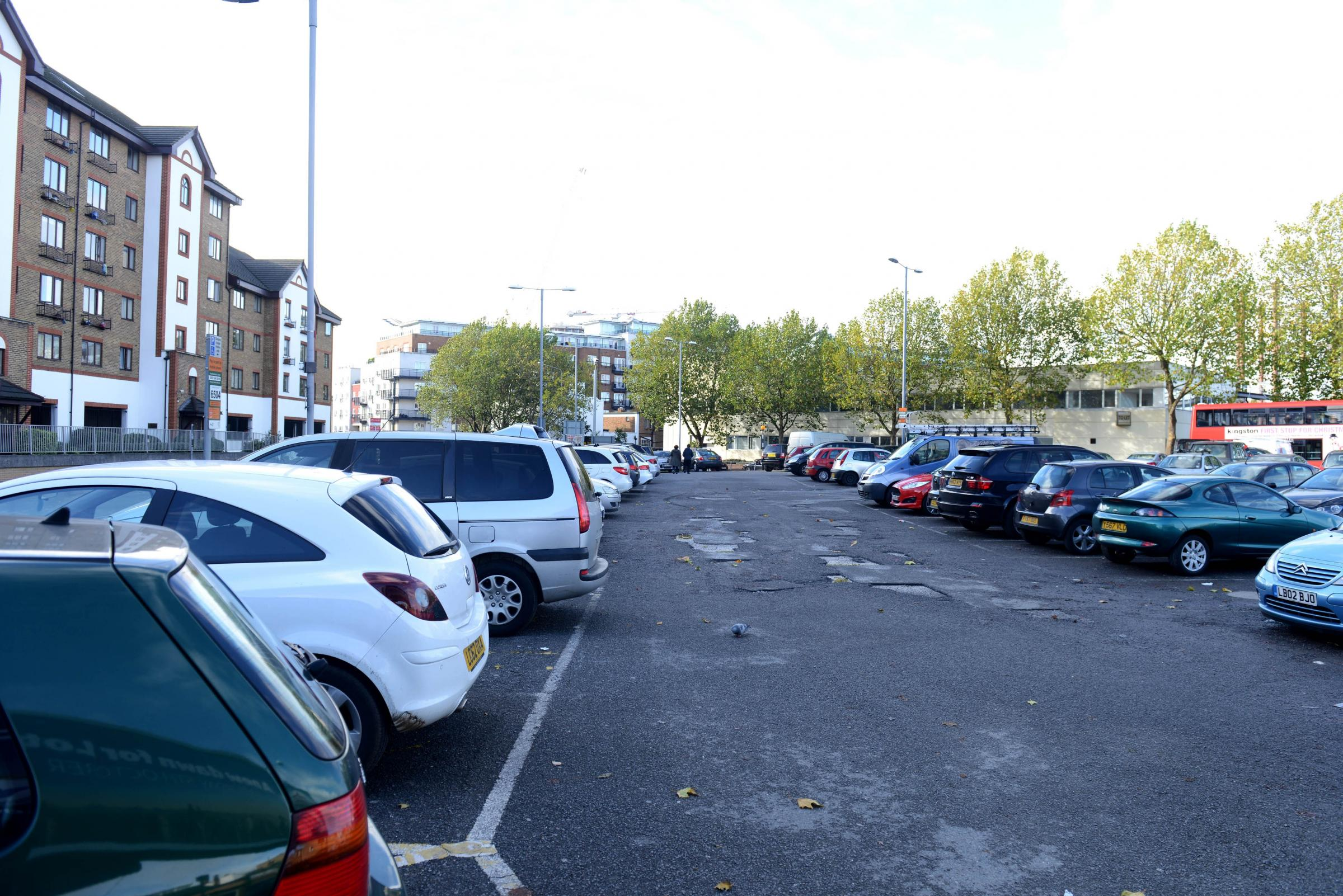 Canbury Place car park, with the Kingsgate Centre in the background, could be the subject of a land swap deal