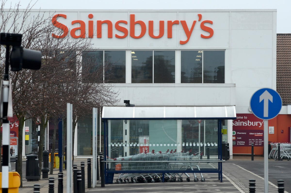 Sainsbury's, in Kiln Lane, Epsom