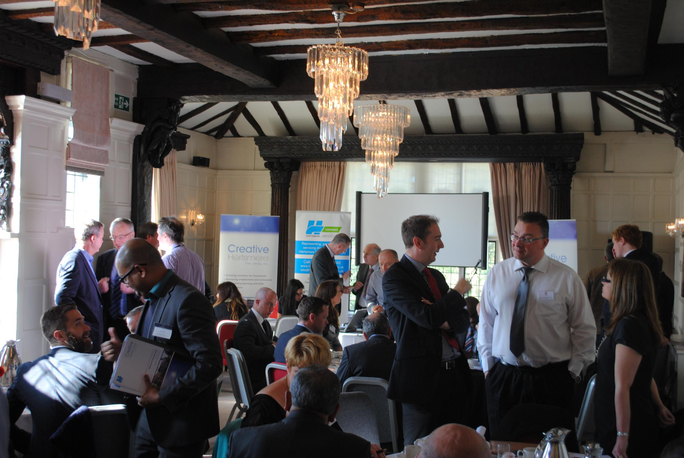 Business breakfast to help revive Potters Bar