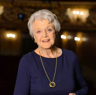 Angela Lansbury was delighted to be made a Dame