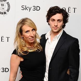 Aaron Taylor-Johnson says he's glad wife Sam didn't cast him in the Fifty Shades Of Grey movie