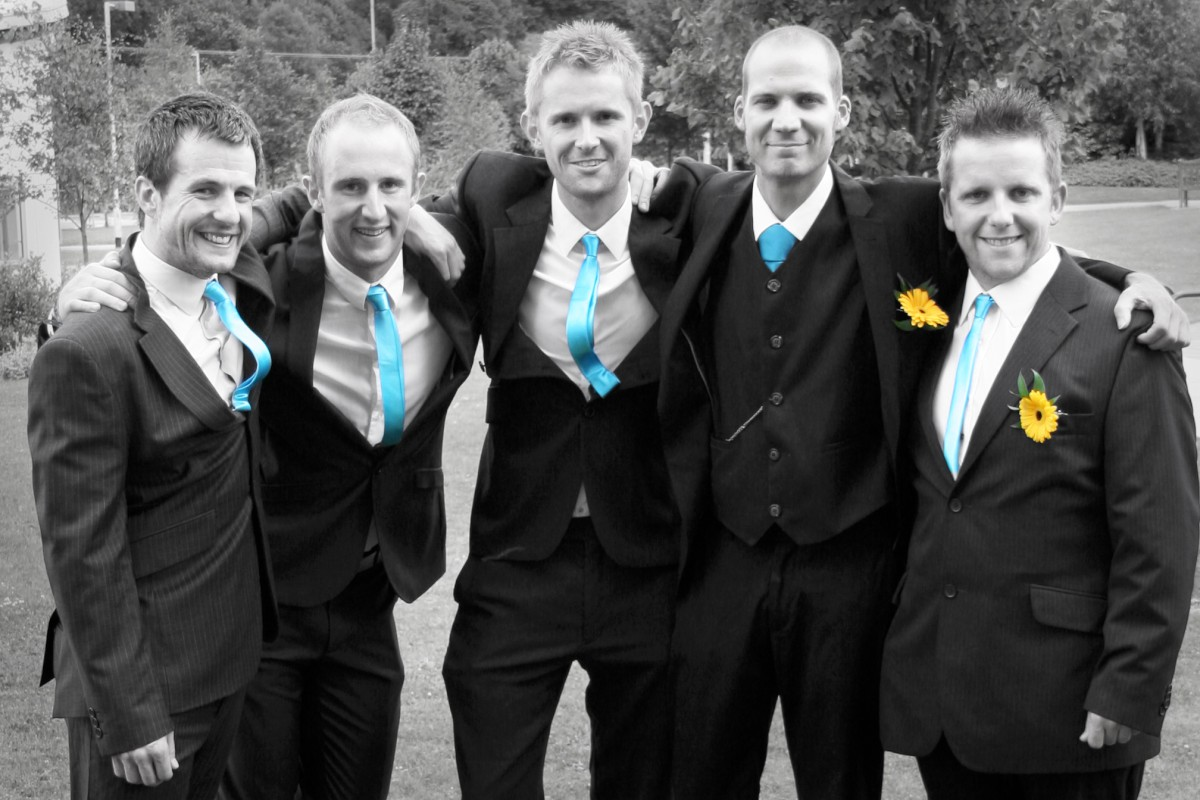 Friends: Andy, Dave, Matt, Nathan and Gareth