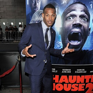 Marlon Wayans at the world premiere of A Haunted House 2