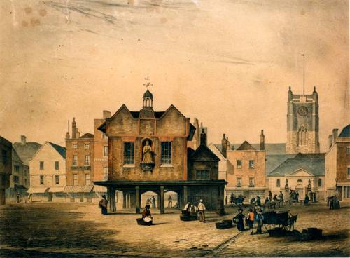 Kingston's 18th century town hall court house Pic courtesy of Kingston Museum and heritage service