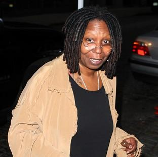 Whoopi Goldberg has said she loves her marijuana-vapourising pen.
