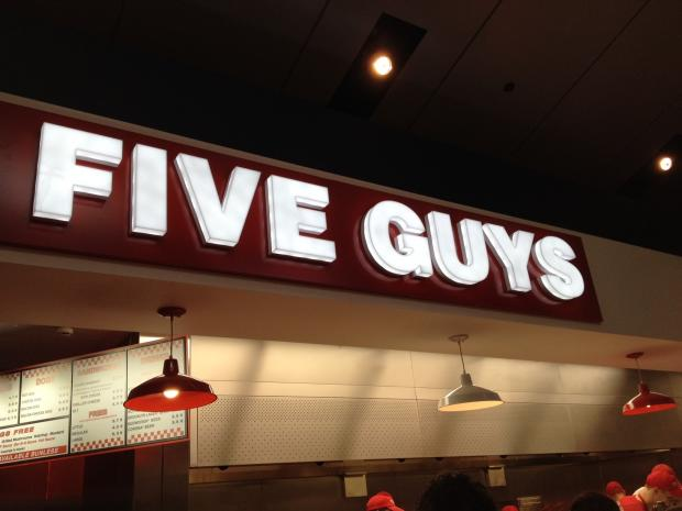 Burger chain Five Guys plans Greenwich O2 branch
