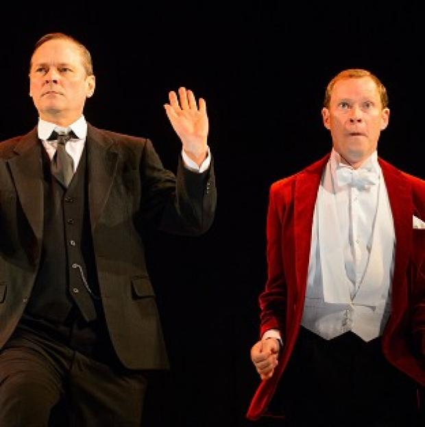This Is Local London: Mark Heap and Robert Webb star as Jeeves and Wooster in Perfect Nonsense